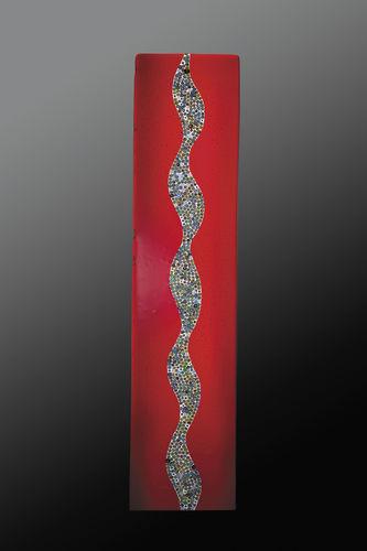 panel decorativo de cristal de Murano / de pared / a medida