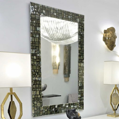 Espejo de pared / moderno / rectangular / de cristal de Murano MOROSINI veveglass