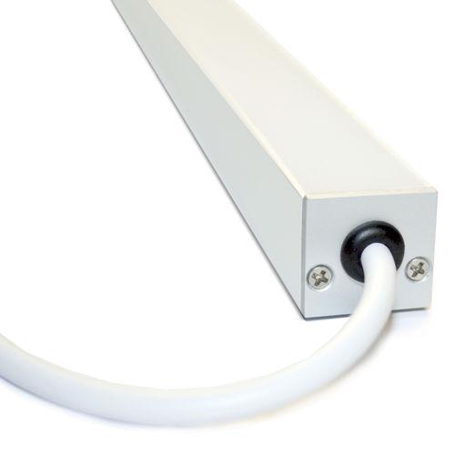 Perfil de iluminación empotrable / de suelo / LED / sistema de iluminación modular AERIS IP67 liniLED®