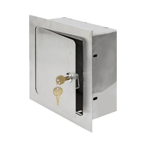trampilla de inspección para pared / cuadrada / de metal