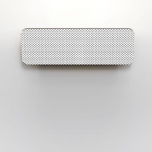 aplique moderno / de cerámica / LED / rectangular