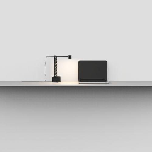 lámpara de mesa / moderna / piedra de lava / de interior
