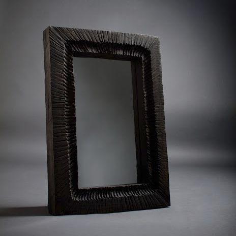 Espejo de pared / clásico / rectangular / de roble SF.W.9.1 SÓHA CONCEPT