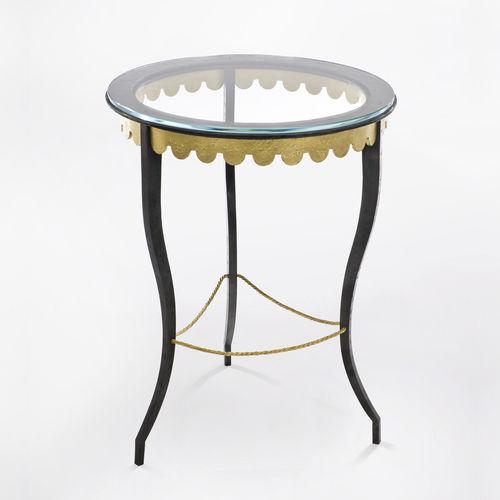 velador clásica / de vidrio templado / de hierro forjado / de acero pintado
