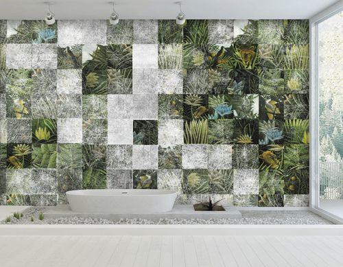 papel pintado moderno / de tela / de vinilo / con motivos de la naturaleza