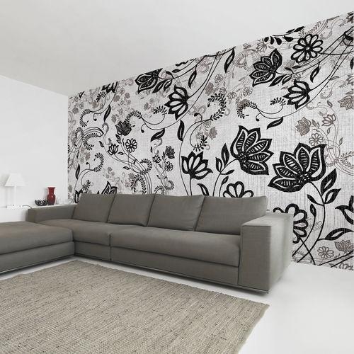 Papeles pintados modernos / de tela / de vinilo / con motivos florales EASY Skinwall