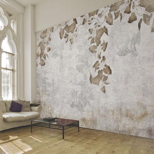 Papeles pintados modernos / de tela / de vinilo / con motivos de la naturaleza GROWING IVY Skinwall