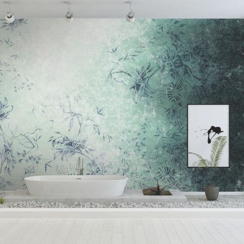 Papeles pintados modernos / de tela / de vinilo / con motivos florales IMAGO Skinwall