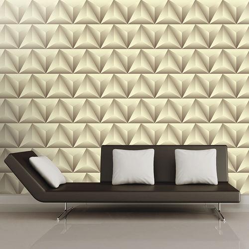 Papeles pintados modernos / de tela / de vinilo / con motivos geométricos LIGHTS & SHADOWS Skinwall