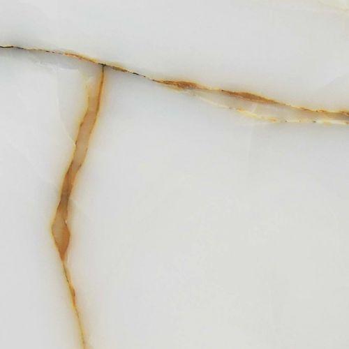 Baldosa de pared / para pavimento / de ónix / con motivos WHITE GOLDEN VEIN Elite Stone