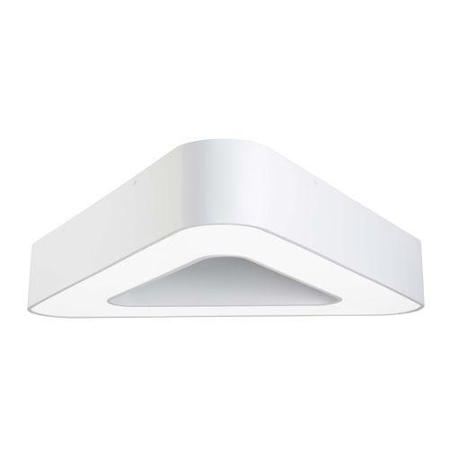 luminaria LED / fluorescente / triangular / de acero