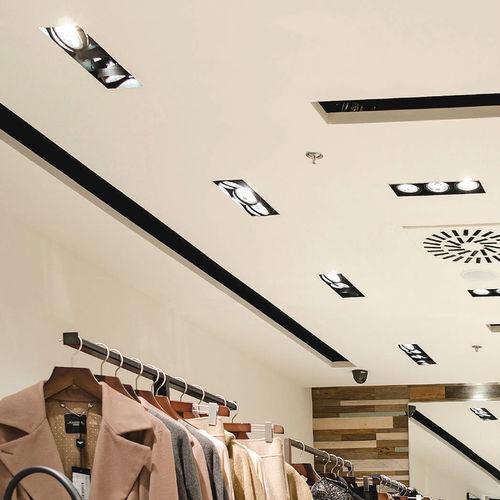 foco empotrable de techo / de interior / LED / halógeno