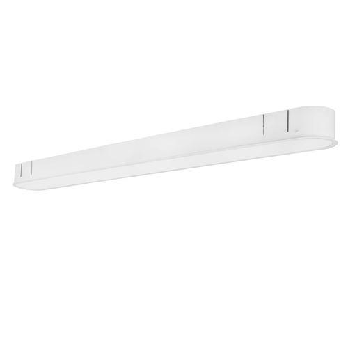perfil de iluminación empotrable / de techo / LED / fluorescente