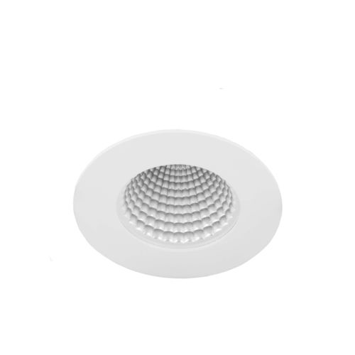 downlight empotrable de techo / LED / redondo / de acero