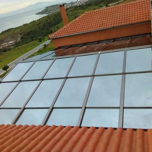ventana de tejado corredera - Salinox