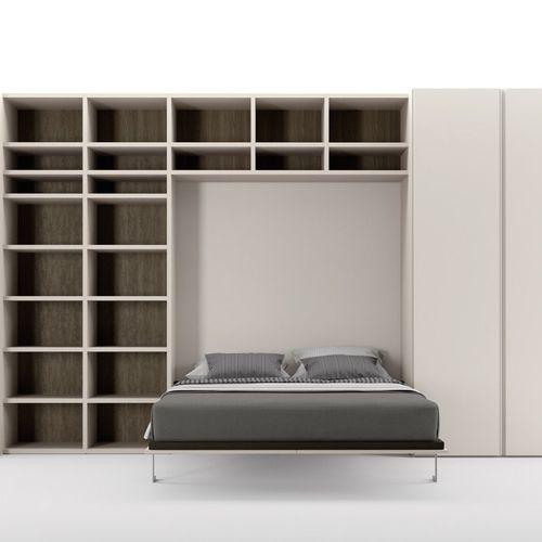 cama abatible / de matrimonio / de soltero / moderna