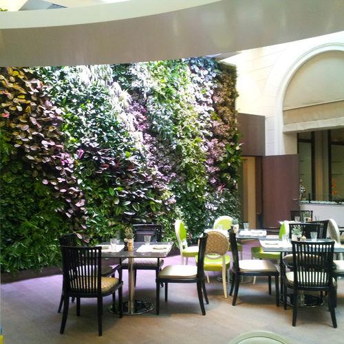 muro vegetal de interior / acústico