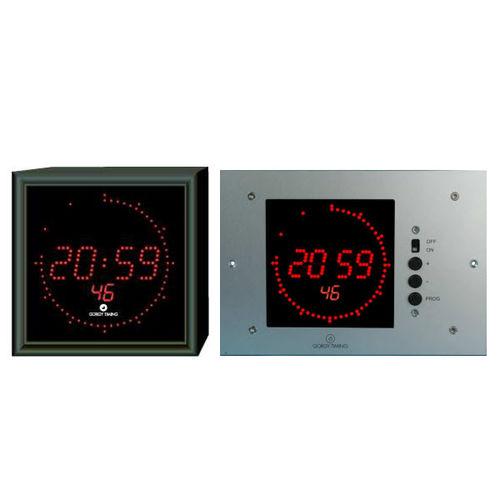 reloj moderno / digital / de pared / LED