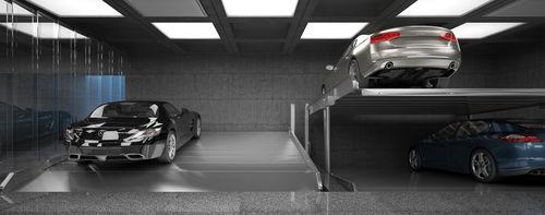 sistema de aparcamiento con plataforma - Modulo parking
