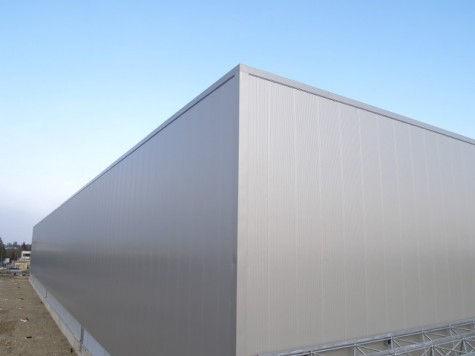 Panel sándwich para revestimiento de fachada / caras metálicas / alma de poliuretano PUR ALUTECH WAND Alubel