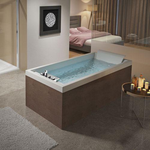 bañera independiente / de fibra acrílica