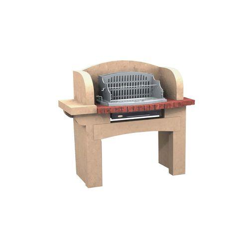 barbacoa de leña / fija / de hormigón / de piedra