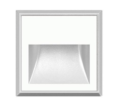 luminaria empotrable de pared / LED / cuadrada / IP65