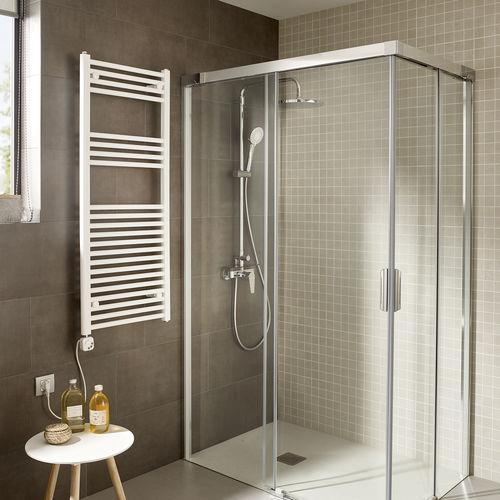 radiador toallero eléctrico / de metal / de diseño / de baño