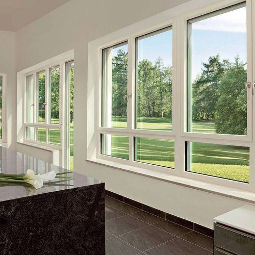 ventana oscilobatiente / de aluminio / de PVC / con vidrio triple
