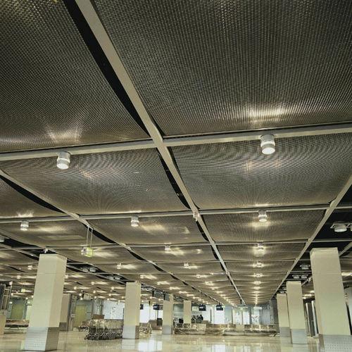 falso techo de malla metálica / tipo panel / enrejado