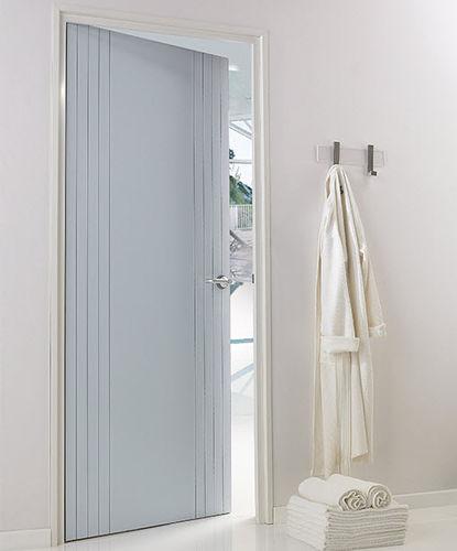 puerta de interior / abatible / de polipropileno / de material laminado