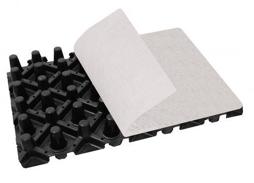 membrana de drenaje no tejida / de poliestireno / de polipropileno / de protección