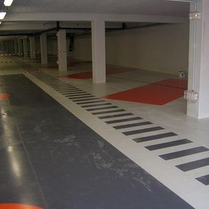 pintura de protección / para pavimento / para aplicaciones industriales / para hormigón