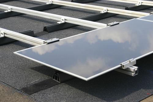 estructura de soporte de cubiertas / para cubierta de tejas / para módulo fotovoltaico