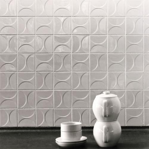 Baldosa de suelo / de cerámica / con motivos geométricos / 3D CLASSICS KHO LIANG IE Mosa. Tiles.