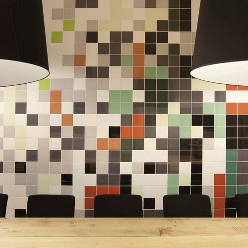Baldosa para baño / de suelo / de cerámica / de color liso MOSA COLORS Mosa. Tiles.