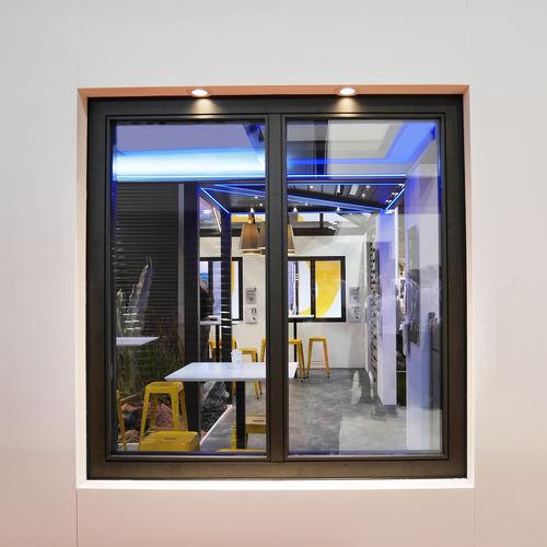 ventana abatible / oscilobatiente / fija / de fuelle