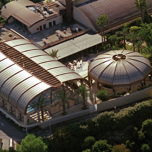 Plancha de tejado de policarbonato / curvada SUNPAL® PALRAM