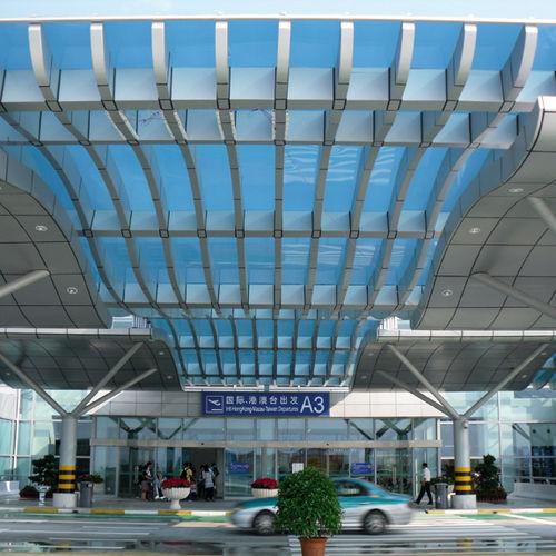 panel de tejado de policarbonato / modular / translúcido / con protección UV