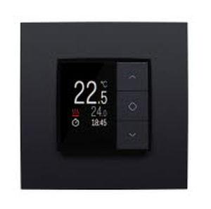 termostato de ambiente / empotrable de pared / para calefacción / con indicador digital