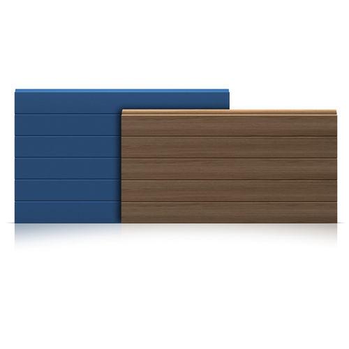 aislante térmico / de espuma de poliuretano / para puerta / tipo panel