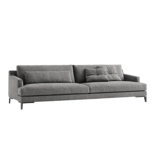 sofá moderno / para salón / de tejido / de Jean-Marie Massaud