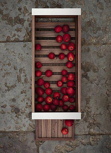 caja de almacenamiento de madera