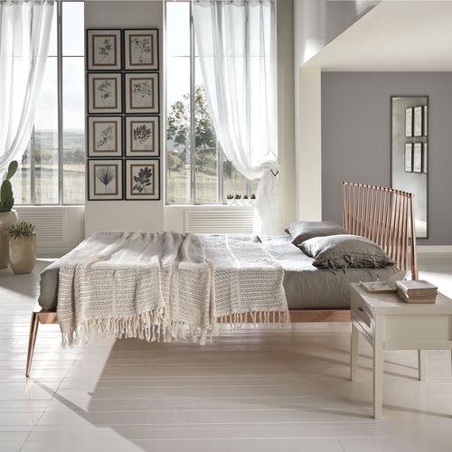 cama estándar / de matrimonio / moderna / de hierro