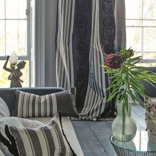 Tela para cortinas / de flores / a rayas / barroco   astrakhan ...