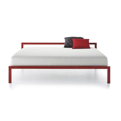 cama con dosel / de matrimonio / moderna / de aluminio