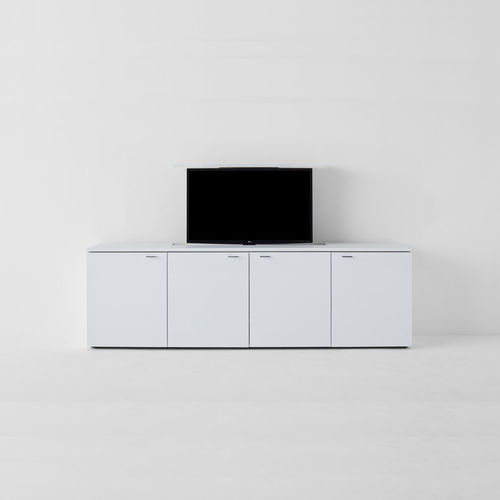 mueble de televisión moderno / lowboards / de madera