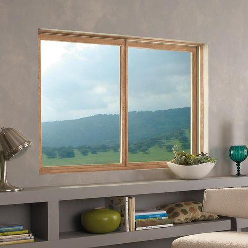 Ventana corredera / de madera / fibra de vidrio / con vidrio doble WOOD-ULTREX INTEGRITY