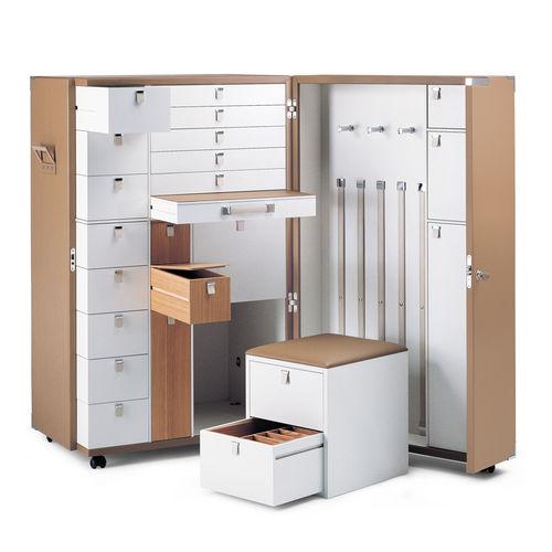 armario baúl / moderno / de roble / de MDF