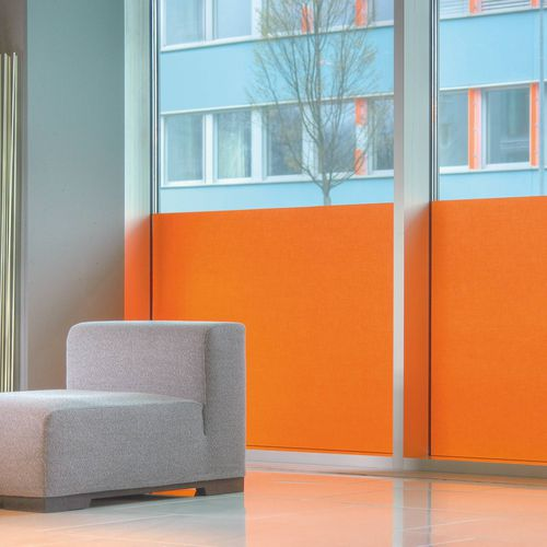 tela para protección solar / de color liso / de poliéster / de Trevira CS®